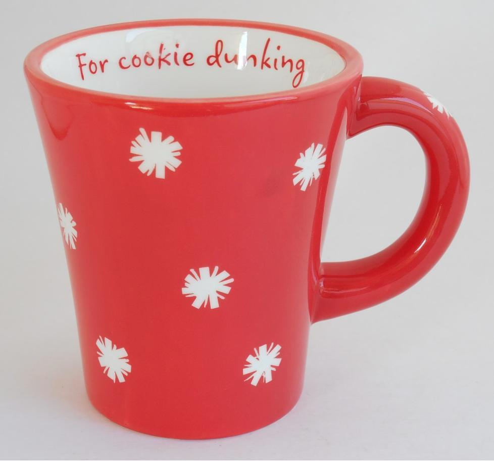 Primary image for Hallmark ~ Santa & Co ~ For Cookie Dunking Cup Mug ~ Christmas Holiday Snowflake