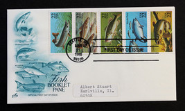 US Stamp 2209a FDC Booklet Pane of 5  ArtCraft Cachet 1986 - $2.49