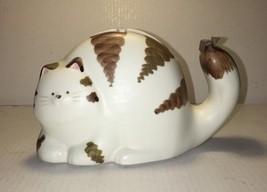 Vintage Takahashi San Francisco Ceramic Cat Tap... - $34.64