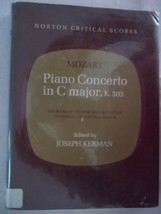 PIANO CONCERTO IN C MAJOR, K. 503: THE SCORE OF THE NEW MOZART EDITION, ... - $18.99