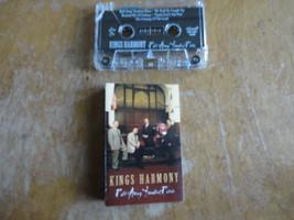 CASSETTE Kings Harmony 'Roll Away Troubled River' West Virginia gospel q... - $7.99
