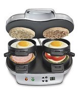 Brand New Hamilton-Beach 25490C Dual Breakfast ... - $66.59