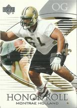 2003 Upper Deck Honor Roll #54 Montrae Holland RC  - $0.50