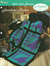 Needlecraft Shop Crochet Pattern 942050 Jeweltone Baskets Afghan Series - $4.99