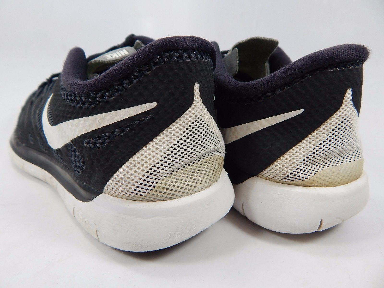 Nike Free 5.0 Men's Boy's Youth Shoes Size 5.5 Y (M) EU 38 Black 644428-001