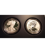 2012-S American Eagle San Francisco 2 Coin Silver Proof Set (EG1) - $200.00