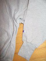 5W/GRAY CHAMPION REVERSE WEAVE CREW NECK SWEATSHIRT/RARE/LARGE/FITTED WAIST! image 3