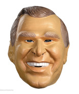 GEORGE W. BUSH 43RD U.S PRESIDENT MASK ADULT HALLOWEEN COSTUME ACCESSORY - $27.00
