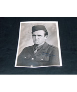 WWII WW2 SOLDIER 5X7 PHOTO PICTURE SIGNED TO, FROM, MARCH 1944 WORLD WAR... - $9.12