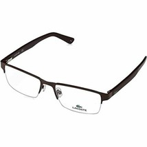 NEW LACOSTE L2237 615 Matte Red Eyeglasses 53mm with Lacoste Case - $98.95