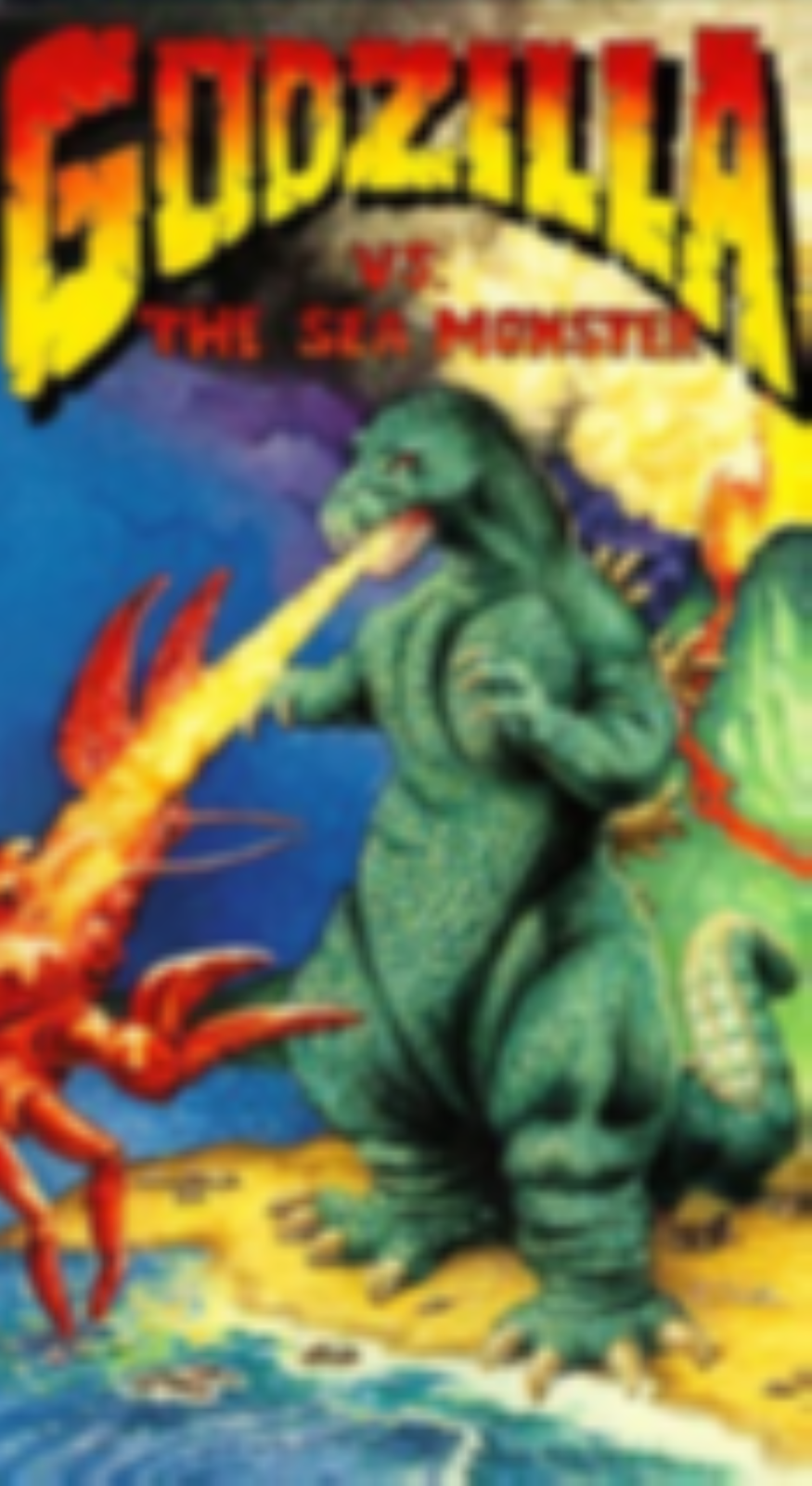 Godzilla vs. The Sea Monster Vhs