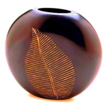 Artisan Leaf Vase - $20.60