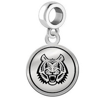 Idaho State Bengals Silver Round Border Dangle Charm - $49.00