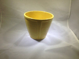 Vintage McCoy Planter in Sunny Yellow - $30.00