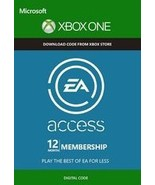 12-Month{1 year} Xbox ONE EA Access Membership Code [DIGITAL] /n - $28.44