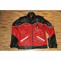 Men's Motorcycle Biker Genuine Lambskin Leather Jacket Coat HD - $69.29+
