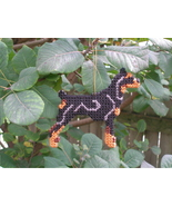Doberman Pinscher everyday Ornament, OOAK, clearance - get it before it ... - $20.80