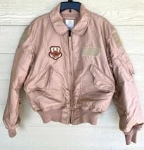 Usaf Tan Nomex Fire Resistant Cold Weather Flyers Men's Cwu-45/p Jacket ... - $163.35