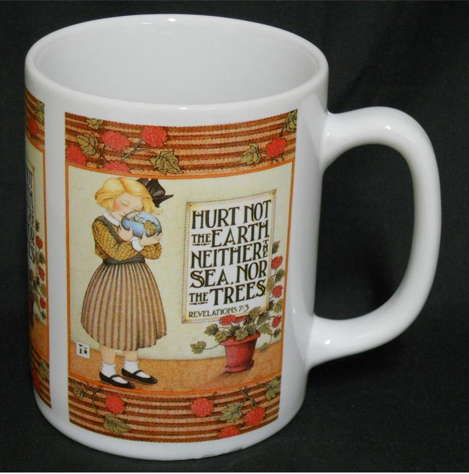 Primary image for Mary Engelbreit MB - Hurt Not The Earth Neither The Sea Nor The Trees - Cup Mug