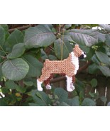 Boxer #1 dog everyday Ornament, OOAK, clearance - get it before it is gone - $15.40