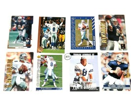 Troy Aikman #8 QB Dallas Cowboys Football Trading Cards AA-191702 Vintage Collec image 1