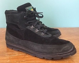 Rockport Discovery Series Women's Boots - Size 7M - Black Suede & Leathe... - $24.77