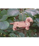 Dachshund Smooth everyday Ornament, OOAK, clearance - get it before it i... - $14.70