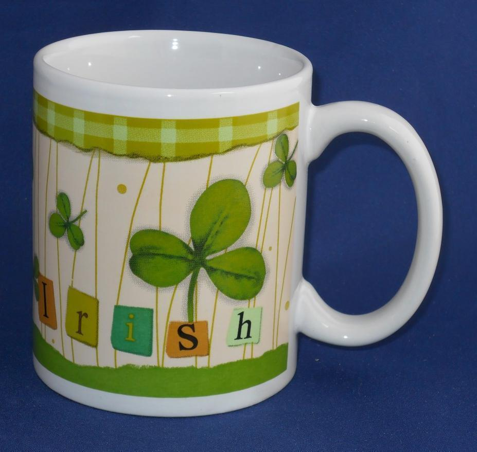 Primary image for Michaels IRISH Clover Shamrock Coffee Cup Mug