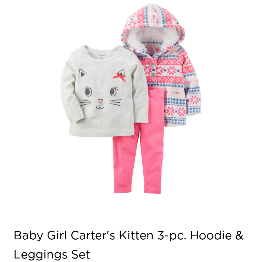 679b85a83 NWT Carters Baby Girls 3 Piece Kitten and 41 similar items