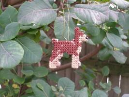 Miniature Pinscher everyday Ornament, min pin minpin, clearance 50% off - $7.00