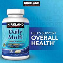Kirkland Signature Daily Multi Vitamins Minerals 500 Tablets CHEAP - $24.99