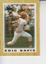 Eric Davis 1987 Topps Mini Card #4 - $0.99