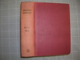 1940 Bound ATLANTIC Magazine Vol 166 William FAULKNER - $35.00
