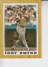 Tony Gwynn 1987 Topps Mini Card #35 - $0.99