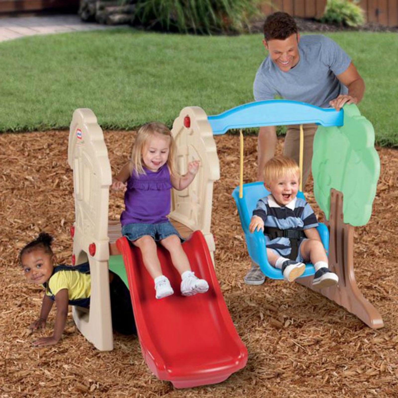 Swing Sets For Children Outdoor Little Tikes Toddlers ...
