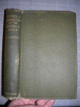 1926 Scenes Characters of the Middle Ages Cutts - $45.00