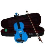 """Crystalcello 12"""" Blue Viola with Case and Bow - $50.00"""