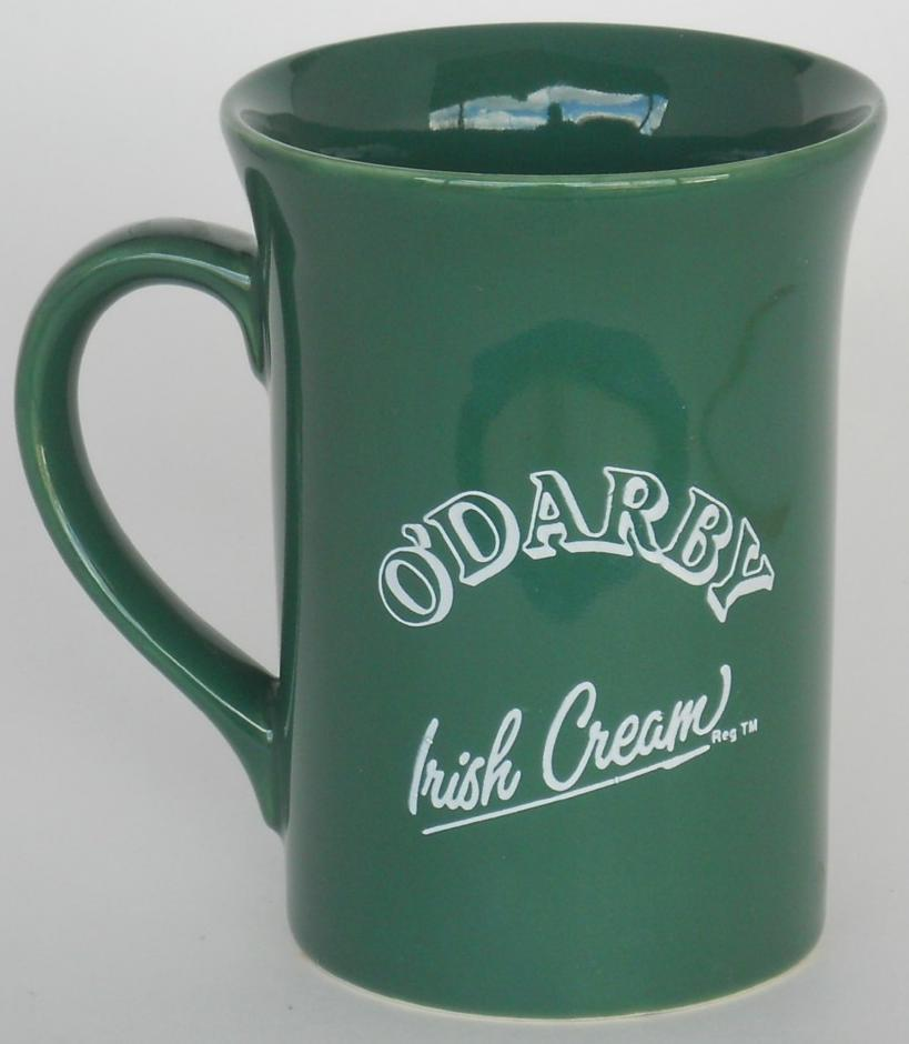 Primary image for O'Darby green Coffee cup mug Carrigdhoun Ireland