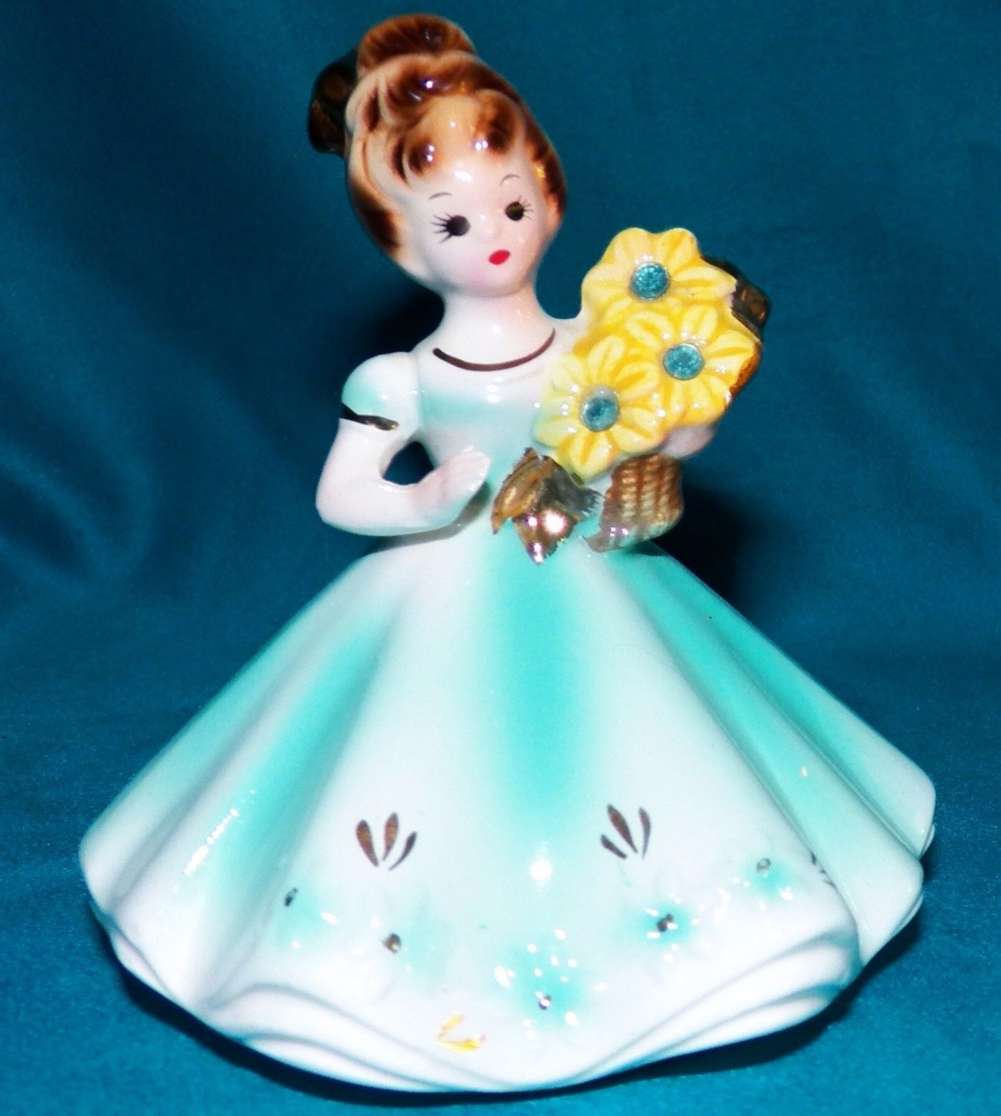 Vintage Josef Originals Birthday Girl Birthstone Figurine