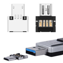 2X PACK Nano Micro USB Male to USB Female OTG Changer Converter Adapter ... - $5.98