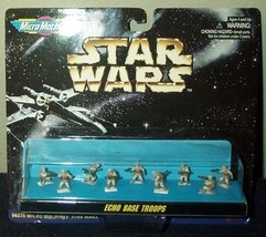 Star Wars Micro Machines Echo Base Troops Collection - $33.66