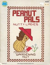 Peanut Pals Nutty Ladies Hobbies Cross Stitch Pattern - 30 Days to Shop ... - $2.49