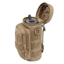 Water Bottle Pouch Tactical Gear Kettle Waist Shoulder Bag for Army Fan ... - $339,35 MXN