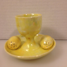 1970s or 1960s Egg Cup with salt and pepper sha... - $14.99