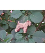 Lakeland Terrier #2 everyday Ornament, OOAK, clearance 50% off - $9.50