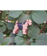 Lakeland Terrier #1 everyday Ornament, OOAK, clearance 50% off - $9.50