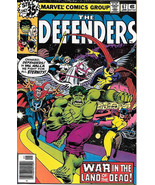 The Defenders Comic Book #67, Marvel Comics 1979 VERY FINE+ - $3.75