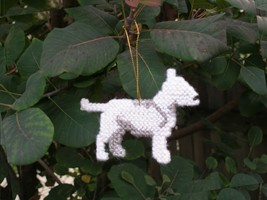 Bull Terrier everyday Ornament, clearance 40% off - get it before it is ... - $12.60