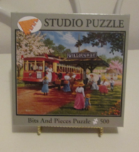 Bits and Pieces Trolley Picnic 500 Piece Puzzle New - $15.95