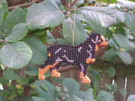 Rottweiler everyday Ornament, OOAK, clearance - get it before it is gone - $18.40
